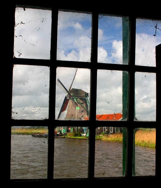 Windmill Window by conrad