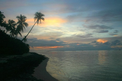Sunset in the South Pacific by obmitty