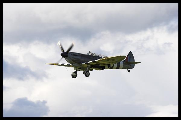 The Grace Spitfire by vfr400