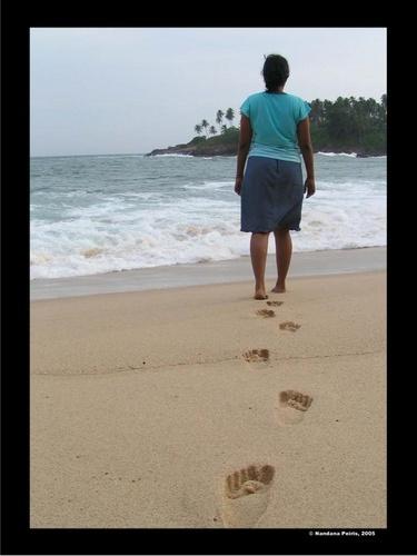 Stepping out.. by Nandana