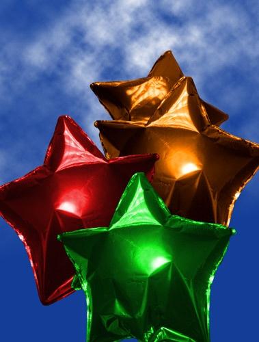 Traffic Light Balloons by heromole