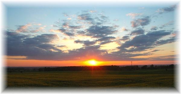 Staffordshire Sunset by Beardy
