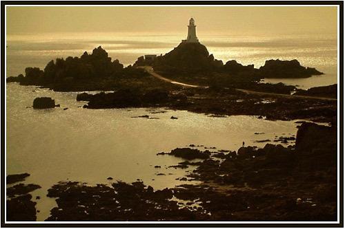 Corbiere Lighthouse by joan duckett