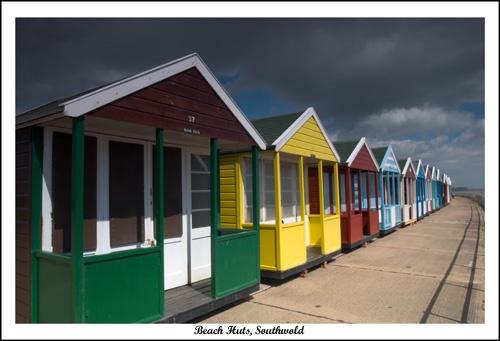 Beach Huts by dp