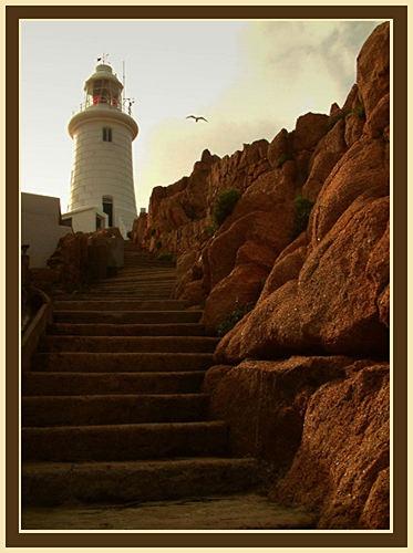 Corbiere Lighthouse 3 by joan duckett