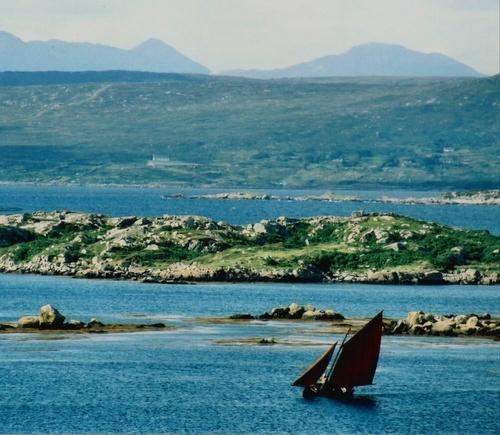 Lone Boatman by mfolan