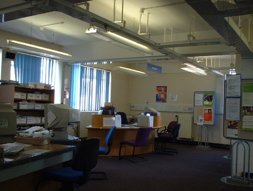 Empty Office by kombizz