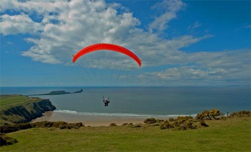 paraglider by dean