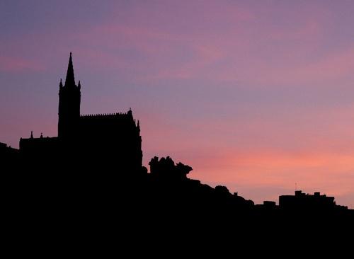 Church Silhouette by claudette
