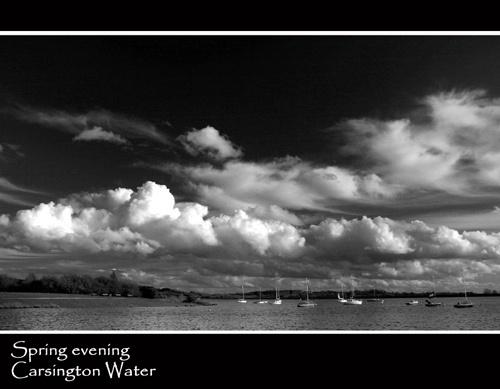 Spring evening, Carsington Water by Potto