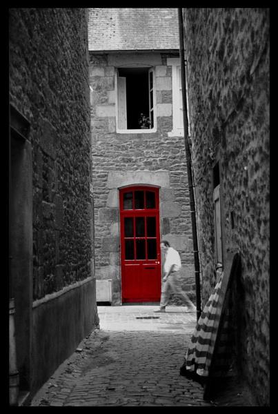 The red door by scottingham