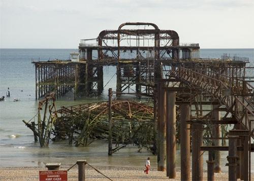 West Pier, Brighton by john ballance
