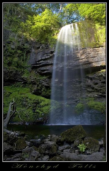 Henrhyd Falls by AdrianTurner