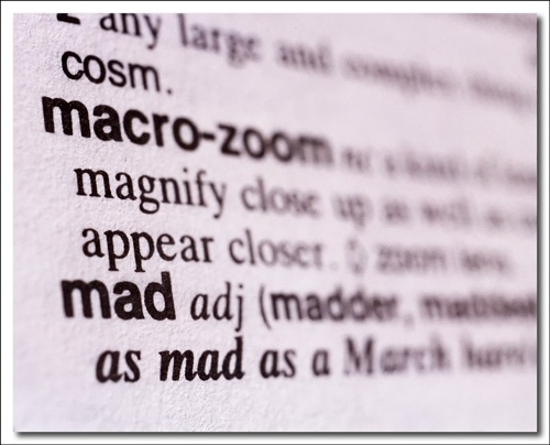 Macro magnify appear mad by elikag