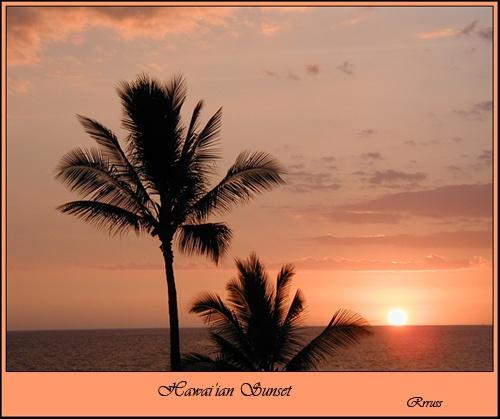 Hawai\'ian Sunset by rrruss