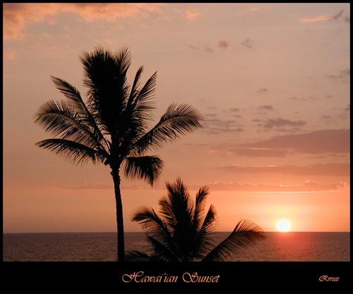 Hawai\'ian Sunset #2 by rrruss