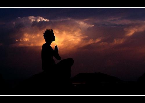 meditation by funkeldink