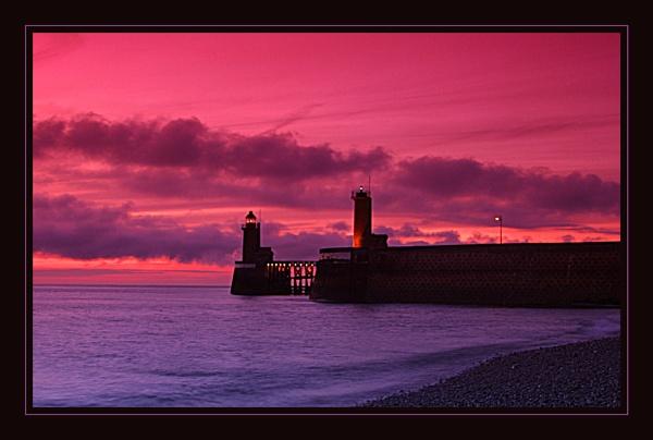 Fécamp Lighthouse by conrad