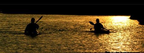 Canoe Sunset by sandyb