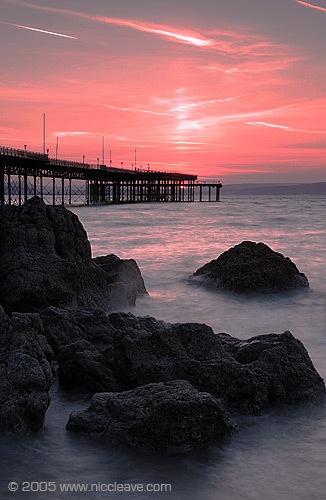 Mumbles sunrise by nicanddi