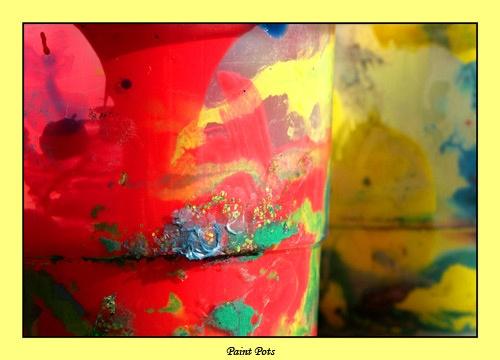 Paint Pots by adonoghue