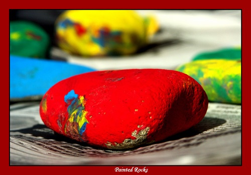 Painted Rocks by adonoghue