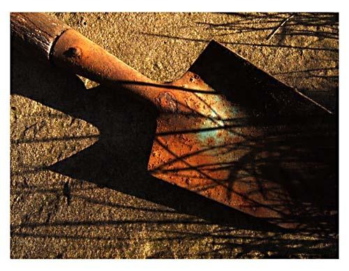 Rusty Trowel by tezza