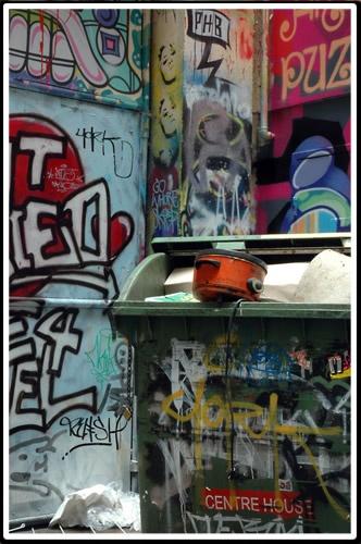 Alleyway Art #2 by patrickfarrell