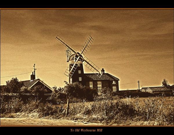 Ye Old Weybourne Mill by Jimbob