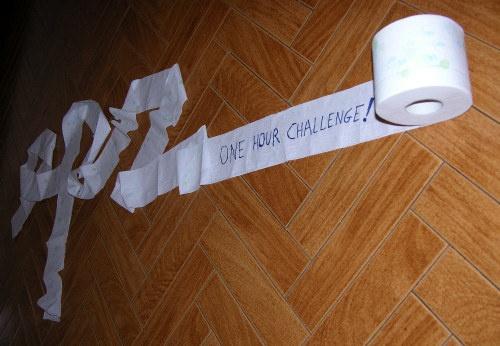 ONE HOUR CHALLENGE by geoffash26
