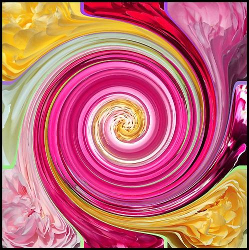 Rose Petal Paint by Aurora