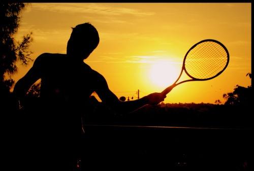 Evening tennis by RWalker