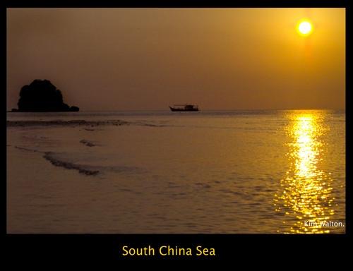 South China Sea by Kim Walton