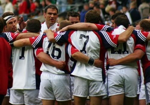Martin Johnson and his Team by EnglishRose