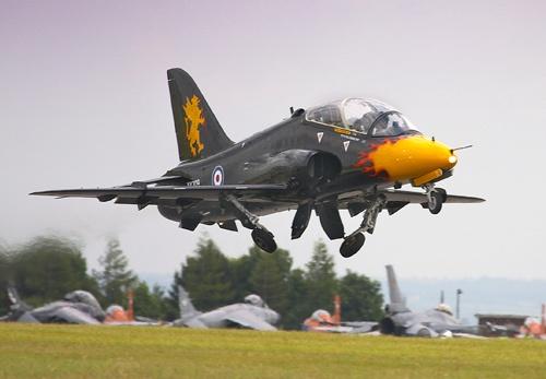 RAF Valley Hawk by swfh