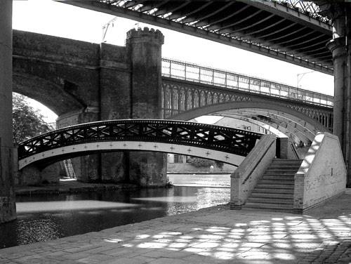castlefield bridges by alwyn
