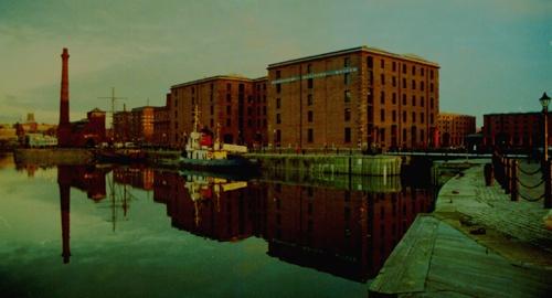 Albert Dock by DAVID LYDIATE