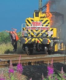 Train Fire Escape