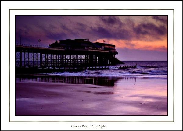 Cromer Pier at First Light by Jimbob