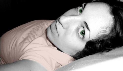 green eyes by omeleko