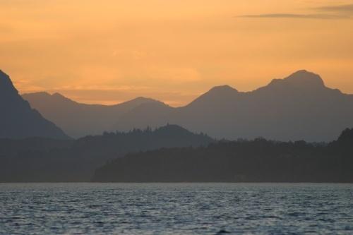 Bariloche Sunset by abtayler