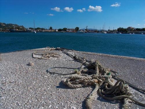 zakynthos harbour by grom