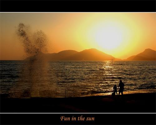 Fun in the sun by Keith-Mckevitt