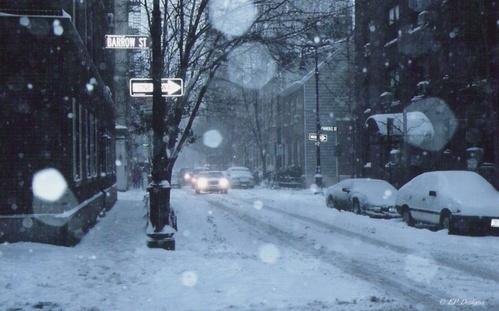 Barrow Street Blizzard by EmilyP