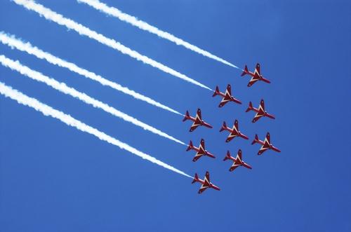 Red Arrows by philjoel