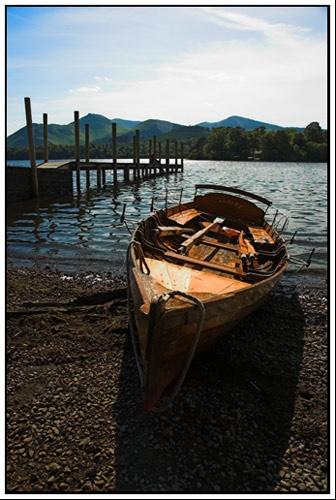 Derwent Lake Boat by philjoel