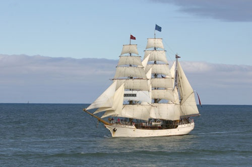 the tall ship europa by rf