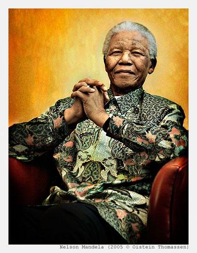 Mandela by oisteinth