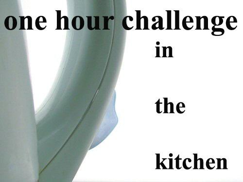 one hour challenge by jacquienewsham