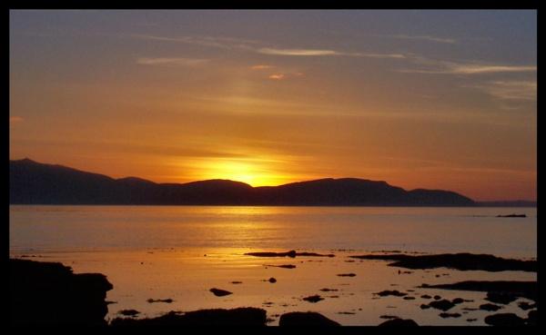 Warm Sunset by ScottRobertson